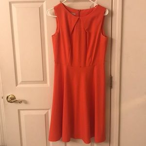 Dress Barn Red-Orange Dress